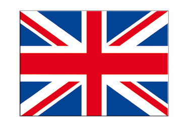 "Great Britain Flag Sticker 3x4"", 5 pcs"