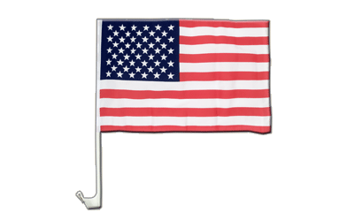 USA - Car Flag 12x16""
