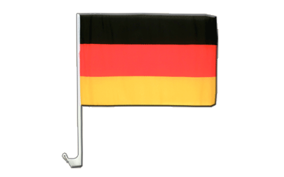 Germany Car Flag 12x16""