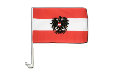 Austria eagle Car Flag 12x16""