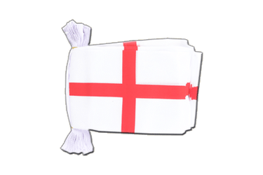 "England St. George Flag Bunting 6x9"", 9 m"