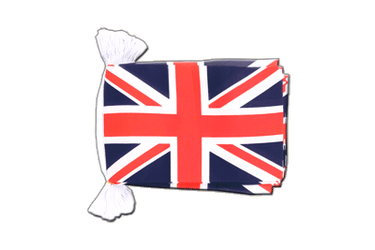 Great Britain Flag Bunting 6x9""