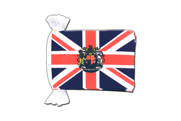 Great Britain with crest Flag Bunting 6x9""