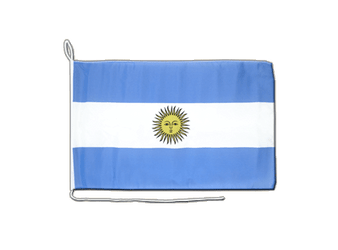 Argentinien Bootsflagge 30 x 40 cm