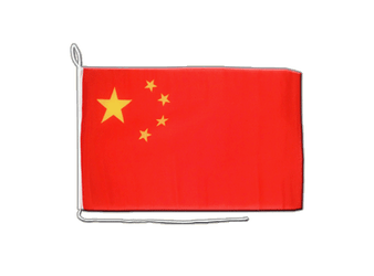 China - Boat Flag 12x16""