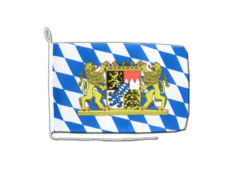 Bavaria lion Boat Flag 12x16""