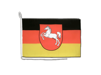 Lower Saxony Boat Flag 12x16""