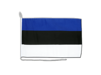 Estonia Boat Flag 12x16""