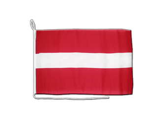 Latvia Boat Flag 12x16""