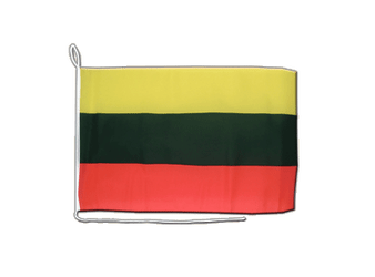 Lithuania Boat Flag 12x16""