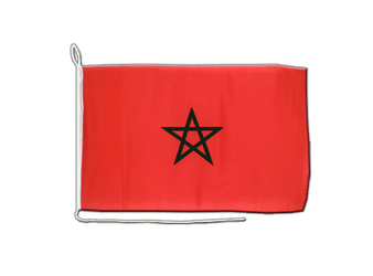 Morocco Boat Flag 12x16""