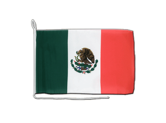 Mexico Boat Flag 12x16""