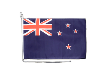 New Zealand Boat Flag 12x16""