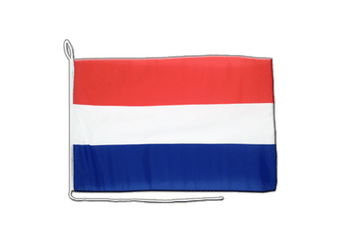 Netherlands Boat Flag 12x16""
