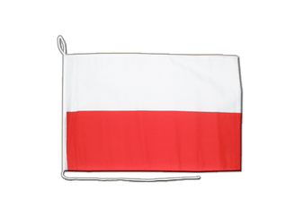 Poland - Boat Flag 12x16""