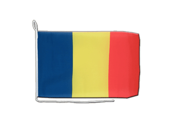 Rumania Boat Flag 12x16""
