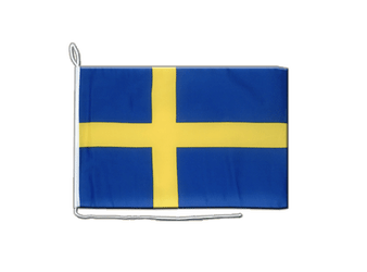 Sweden Boat Flag 12x16""