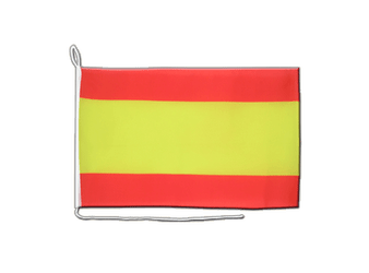Spain without crest Boat Flag 12x16""
