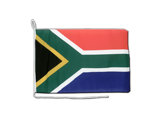 South Africa - Boat Flag 12x16""