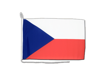 Czech Republic - Boat Flag 12x16""