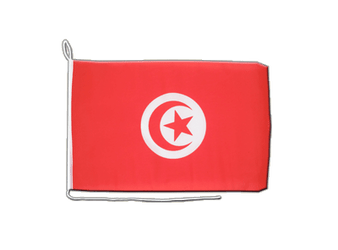 Tunisia Boat Flag 12x16""