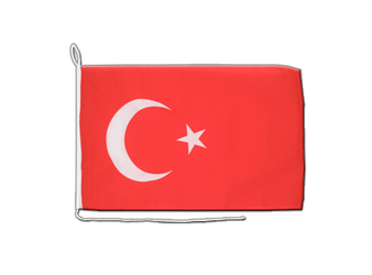 Turkey Boat Flag 12x16""