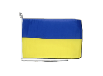 Ukraine Boat Flag 12x16""