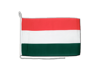 Hungary Boat Flag 12x16""