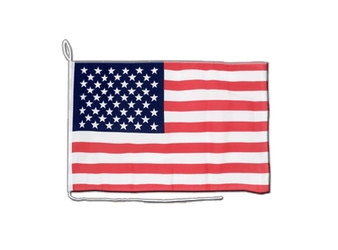 USA Boat Flag 12x16""