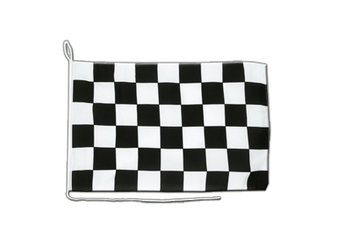 Checkered Boat Flag 12x16""