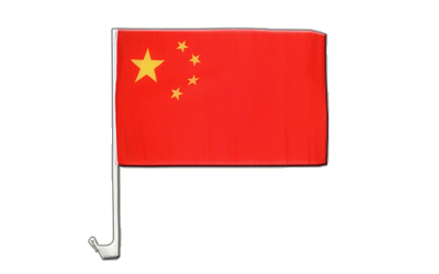 China - Car Flag 12x16""