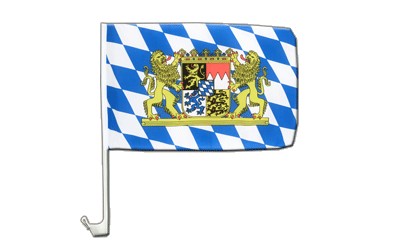 Bavaria lion Car Flag 12x16""