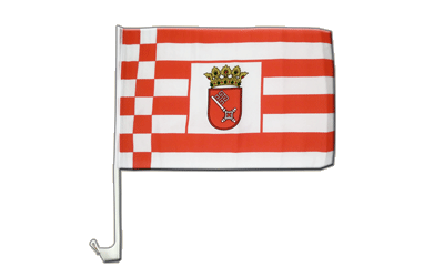 Bremen Car Flag 12x16""