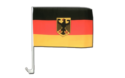 Germany Dienstflagge Car Flag 12x16""