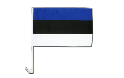 Estonia Car Flag 12x16""