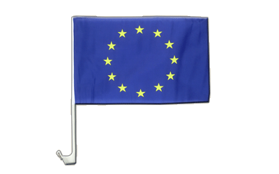 European Union EU Car Flag 12x16""