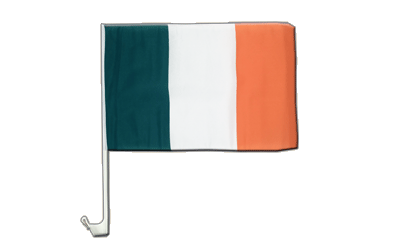Ireland - Car Flag 12x16""