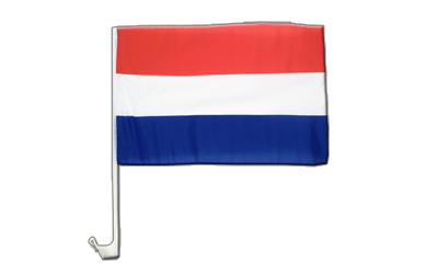 Netherlands Car Flag 12x16""