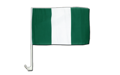 Nigeria Car Flag 12x16""