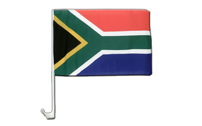 South Africa - Car Flag 12x16""