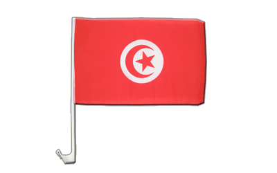 Tunisia Car Flag 12x16""