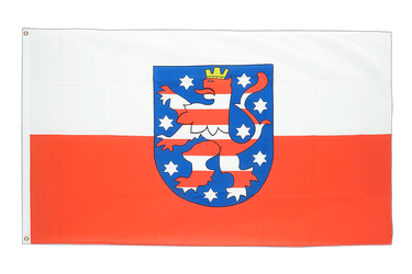 Grand drapeau Thuringe - 150 x 250 cm