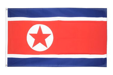 North corea 5x8 ft Flag