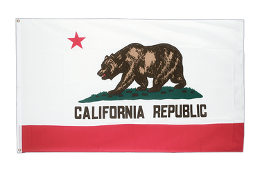 Californie Grand drapeau 150 x 250 cm