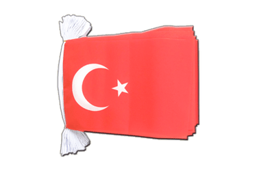"Turkey Flag Bunting 6x9"", 9 m"