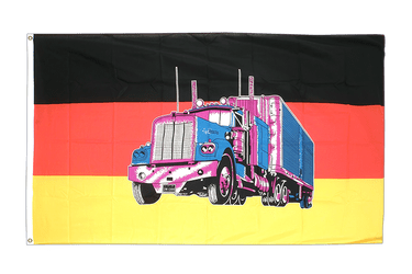 Germany with truck - 3x5 ft Flag