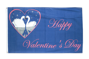 Happy Valentines Day - 3x5 ft Flag