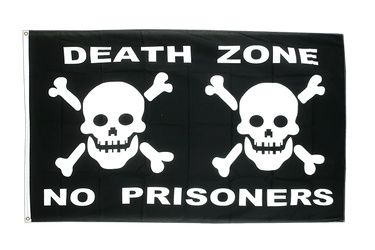 Pirate Death Zone 3x5 ft Flag