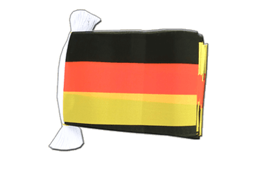 Germany - Flag Bunting 6x9""