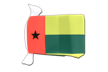 "Guinea-Bissau Flag Bunting 6x9"", 9 m"